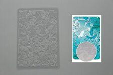 Plaque de texture (thème:papillon) pour pâte polymère, fimo