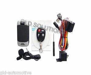 ANTIFURTO Allarme Localizzatore GPS GSM/GPRS Veicoli Auto Camper Sms Telecomando