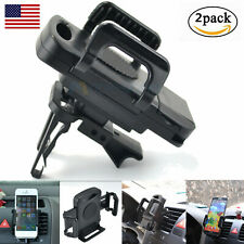 2Pack Car Air Vent Mount Phone Stand Holder For Samsung Cell Phone Universal US