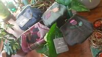 Earth Squared Lara Tweed Clasp Coin Purse in a choice of colours