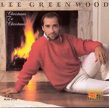 Lee Greenwood : Christmas To Christmas CD