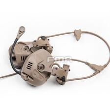 Tactical Hunting FMA & FCS RAC Headset Noise Reduction Communication Headset
