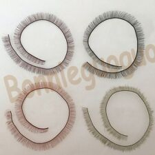 4PCS (20*8CM) Bjd/sd False Eyelashes Doll Eyelash Strip for Reborn Dolls Eyelash