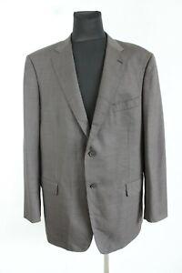 McGregor Brown Long Sleeve V-Neck Two Button Men Blazer Size 58 EU 2XL