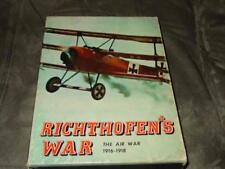 Avalon Hill - Richthofen's War - The Air War 1916-1918 - Bookcase Game (PUNCHED)