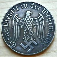 WW2 GERMAN COMMEMORATIVE COLLECTORS COIN 12