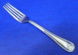 """Gorham SHELL Glossy 18/8 Stainless Vietnam Flatware 8 1/4"""" DINNER FORK"""