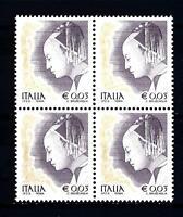 ITALIA REP. - 2002 - Donne nell'arte 0,03 € - Piero della Francesca unif.2646