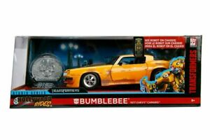 Transformers - 1977 Chevy Camaro 1:24 Scale Hollywood Ride Diecast Vehicle