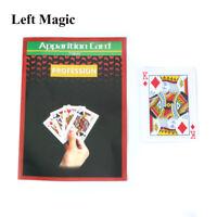 In-Air Change Face In 0.1 Sec Card - Close Up Magic Tricks Magic Props Gimmick