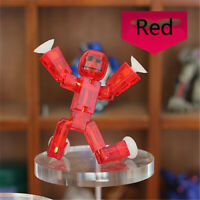 Lot4pcs Zing Stikbot ROBOT ANIMATION single character statue toy gift