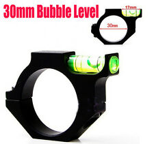 100% Alloy Rifle Scope Laser Bubble Spirit Level For 30mm Ring Mount Holder FREE