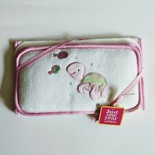 New Baby Girl Pink Turtle Travel Changing Pad Pillow, Just One Year by Carter's