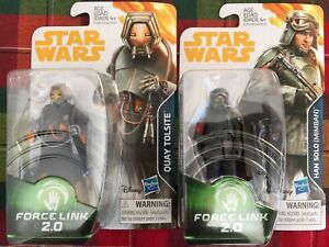 New! Star Wars Force Link 2.0 Quay Tolsite & Han Solo Mimban by Hasbro