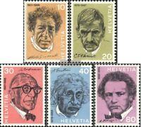 Schweiz 979-983 (kompl.Ausgabe) gestempelt 1972 Bedeutende Persönlichkeiten