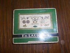 alte Blechdose / Zigarettendose ED. Laurens Bremen 14x11x2cm