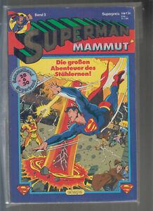 Superman Mamut Sammelband Superband 1-3 komplette Serie (1-2/2) Ehapa Verlag