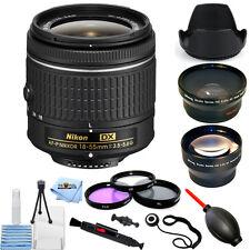 Nikon AF-P DX NIKKOR 18-55mm f/3.5-5.6G Lens!! PRO BUNDLE BRAND NEW!!