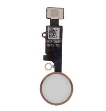 "For iPhone 7 4.7"" & 7 Plus Home Button Fingerprint Touch ID Flex Rose Gold"