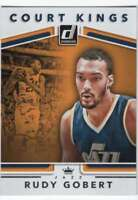 2017-18 Donruss Basketball Court Kings #12 Rudy Gobert Jazz