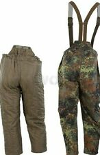 German army goretex camouflage over trousers XL + Linder. New