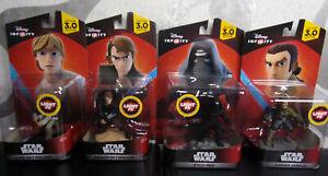 Disney Infinity 3.0 Star Wars - 4 Light Fx (Anakin, Luke, Kanan, Kylo ) - New