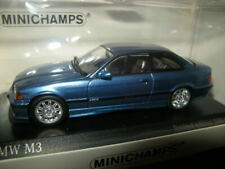 1:43 Minichamps BMW M3 E36 Estorilblau/blue Limited Edition in OVP