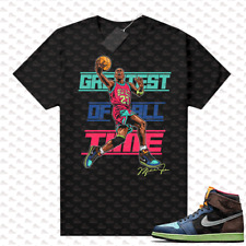 New listing 1 Biohack sneaker tees shirts black Greatest of All Time V2, Matching Unisex Tee