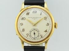 Collector Patek Philippe Vintage Calatrava Manual Winding 18K Gold Calibrer 12