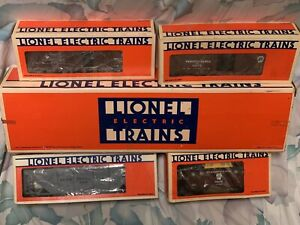 LIONEL PENNSYLVANIA S-2 TURBINE STEAM ENGINE 4 FREIGHT CARS FARR #5 SET 6-8404