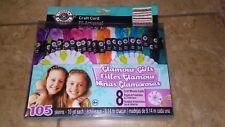 Glamour Girls Loops & Threads Craft Cord 105 Skeins Friendship Bracelets