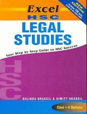 Excel HSC Legal Studies by B. Brassil, D. Brassil (Paperback, 2004) NEW