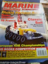 MODEL BOATS MARINE MODELLING SEPTEMBER 2002 WINDSTAR SS AYLESTONE FRANCE DICKIE