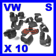 VW AUDI SEAT BONNET BOOT INSULATION LINING TRIM CLIPS A2 A4 A6 GOLF POLO PASSAT