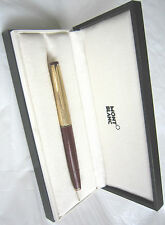 Avant-Grade Men MONT BLANC Designer Meisterstuck 18K Fountain Ink Pen GERMANY