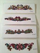 Buy 15 for $21.99+FS - Neon Glitter/Tattoo/Arm/Body/Henna/Sticker/Art/Temporary