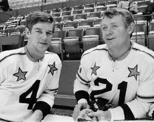1970 Boston Bruins BOBBY ORR & JOHN MCKENZIE All-Star Glossy 8x10 Photo