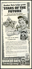 1951 vintage ad for Quaker Oats Stars of Tomorrow -331