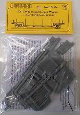 Cambrian C4. GWR/BR 18t Sleeper Wagon Kit. (00)