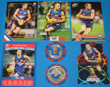 2011 AFL Select Champions Western Bulldogs #181 D.Cross +extras & Topps Chipz