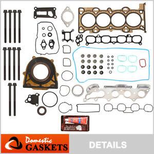 Fits 06-13 Mazda 3 5 6 2.3L MX-5 Miata 2.0L DOHC Full Gasket Set Bolts MZR LFD