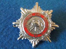 Fire Brigade Cap Badge / Collar Dog - MERSEYSIDE FIRE BRIGADE - OBSOLETE