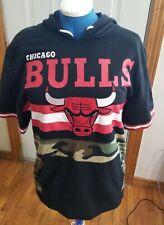 NBA hoodie Chicago Bulls large short sleeves