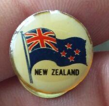 New Zealand flag jacket pin badge