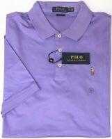 NEW $89 Polo Ralph Lauren Mens Purple Short Sleeve Shirt Classic Fit NWT