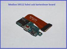Medion S9512 HDMI Micro USB Kartenleser Board Ladebuchse
