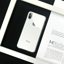 White For i Phone XS MAX Fashion Ultra-Slim Soft Silicone TPU Bumper Case Cover
