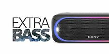 Sony SRS-XB30 Portable Wireless Speaker with Extra Bass and Lighting BLACK