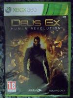 DEUS EX HUMAN REVOLUTION Xbox 360 Nuevo precintado aventura rol en castellano;