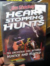 Jim Shockey's Hunting Dvd Video / Heart Stopping Hunts Elephant Rhino Hippo